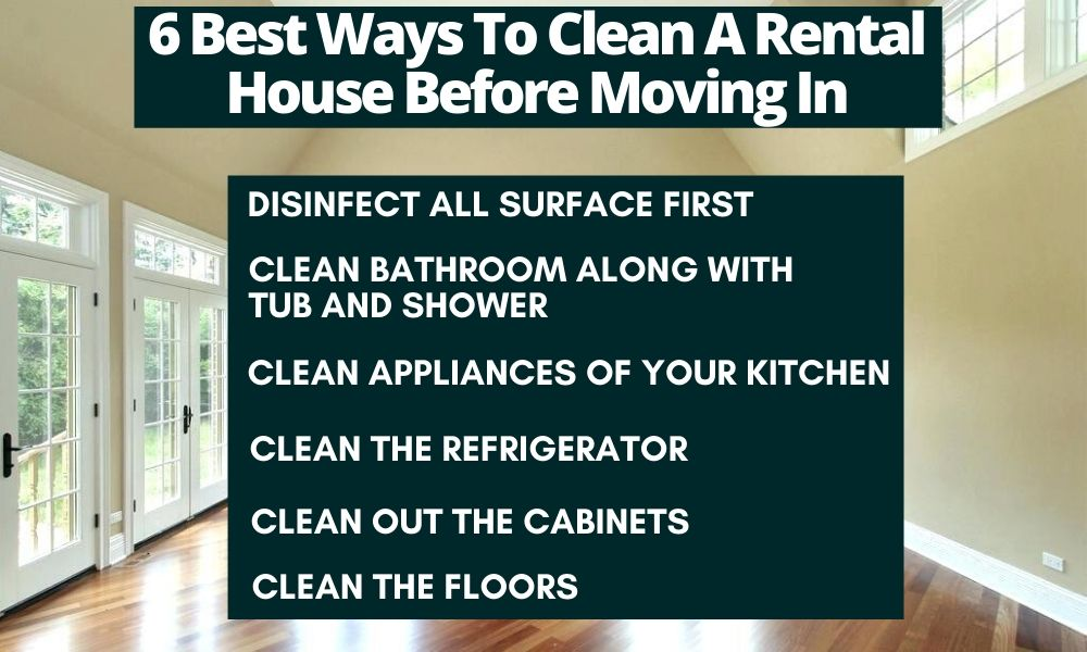 Best ways to clean a rental house
