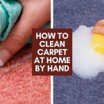 How To Clean Carpet At Home By Hand