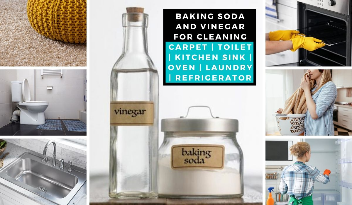 baking soda and vinegar for cleaning