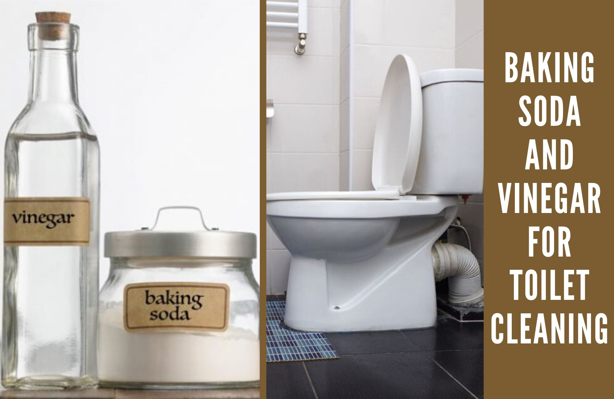 baking soda and vinegar for toilet cleaning