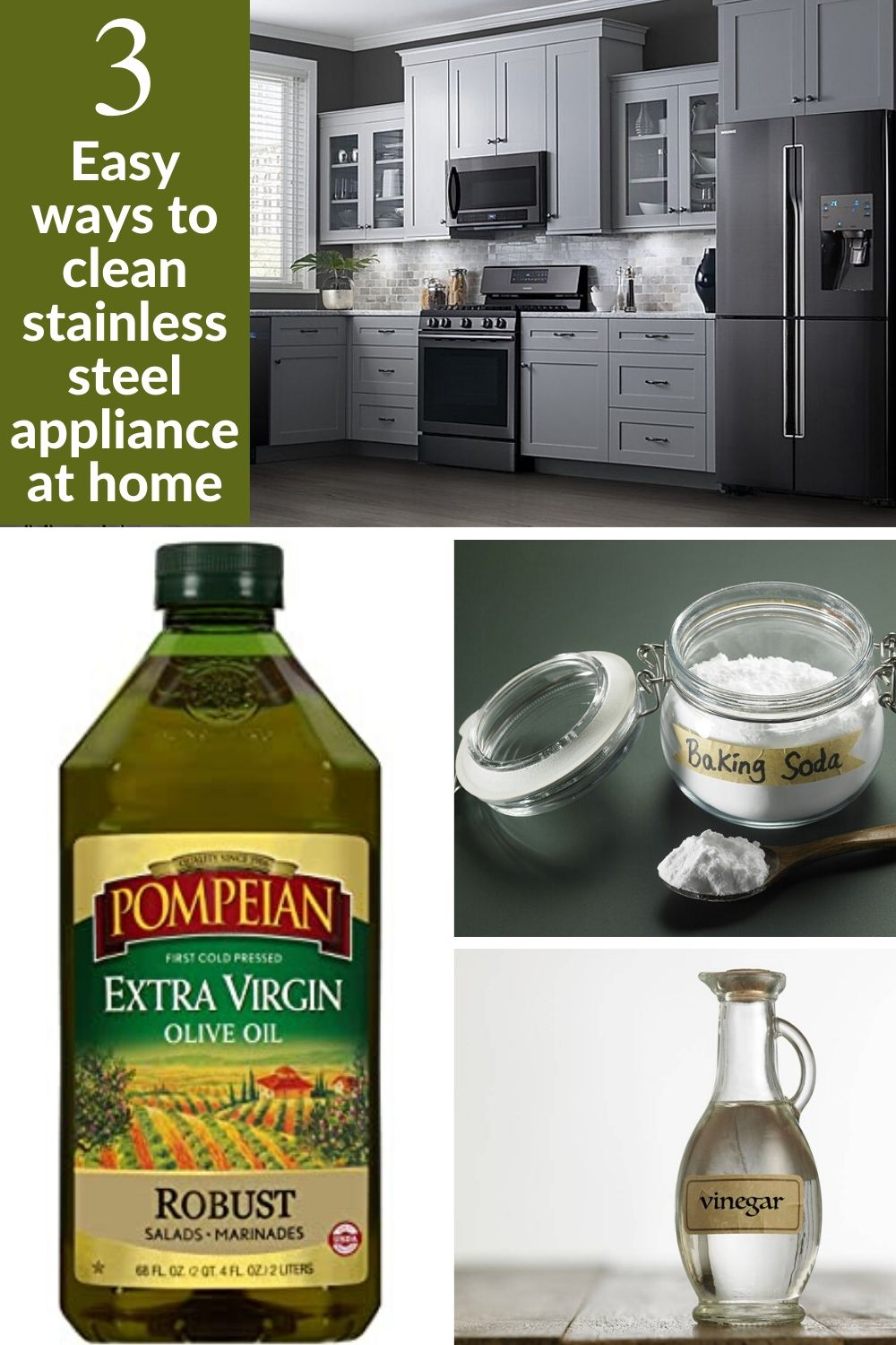 Easy ways to clean stainless steel appliance at home