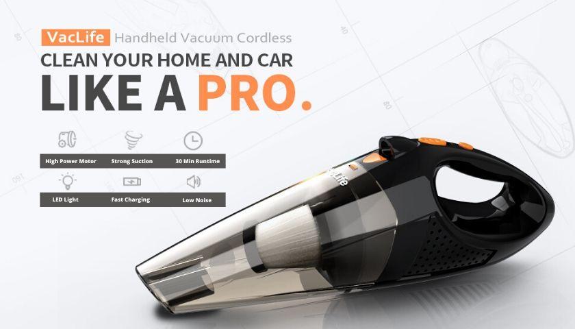 VacLife Handheld Vacuum Review