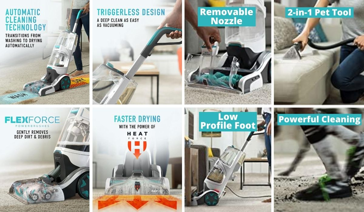 Why you should select Hoover Smartwash Automatic Carpet Cleaner