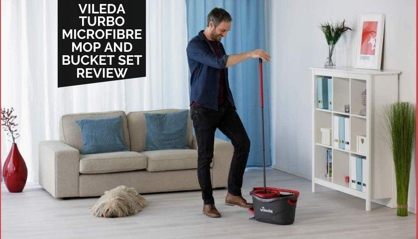 Vileda Turbo Microfibre Mop and Bucket Set Review