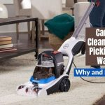 carpet cleaner not picking up water