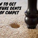 Get Furniture Dents Out Of Carpet