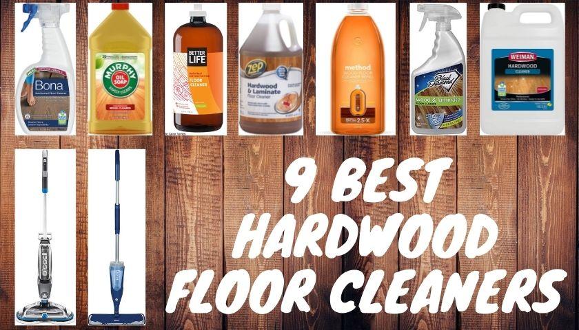 Best Hardwood Floor Cleaners