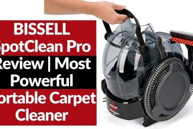 BISSELL SpotClean Pro | Most Powerful Portable Carpet Cleaner
