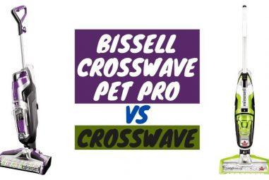 Bissell Crosswave Pet Pro Vs Crosswave | The Real Comparison
