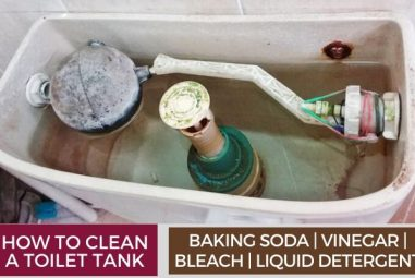 How To Clean A Toilet Tank | Natural Cleaning Solutions