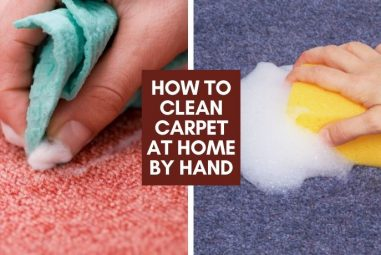 How To Clean Carpet At Home By Hand | By Yourself