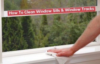 How to Clean Window Sills & Tracks | Deep Cleaning Hacks