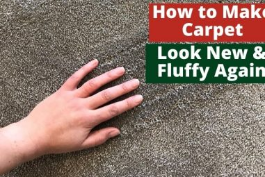 How to Make Carpet Look New and Fluffy Again | Simple Guides