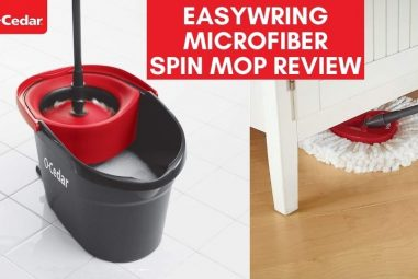 O-Cedar EasyWring Microfiber Spin Mop Review | Best Mop Ever