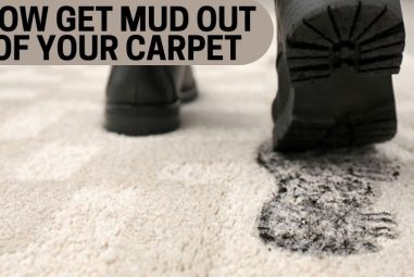 4 Effective Methods to Get Mud Out of Your Carpet