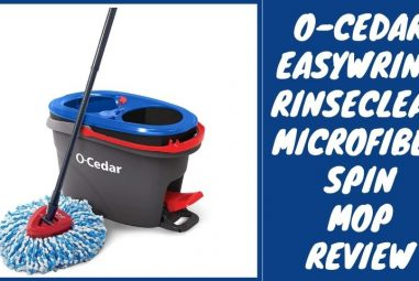 O-Cedar Easywring Rinseclean Microfiber Spin Mop Review